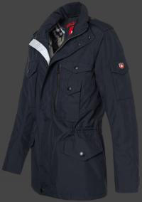 Мужская куртка Wellensteyn Airport-140 DarkNavy вид сбоку
