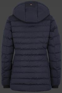 женская куртка Carmenere Lady-878 Midnightblue Wellensteyn сзади