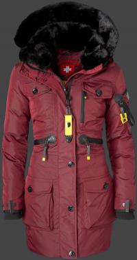 женская куртка Falcon Lady-375 Darkred Wellensteyn