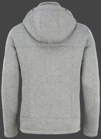 мужская куртка Florida Men-999 Greymelange/ Neonorange Wellensteyn сзади
