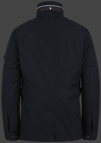 мужская куртка Fuel-44 Dunkelblau Wellensteyn сзади