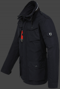 мужская куртка Fuel-44 Dunkelblau Wellensteyn сбоку