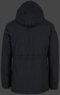Мужская куртка Golfjacke-Winter-44 Dunkelblau Wellensteyn сзади