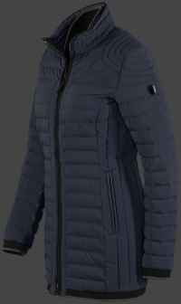 женская куртка Helium Medium-719 Moonlightblue Wellensteyn сбоку