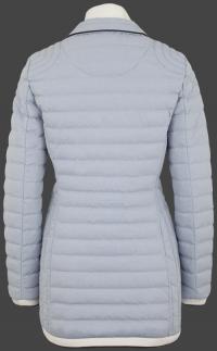 женская куртка Helium Medium-787 Lightbluewhite Wellensteyn сзади