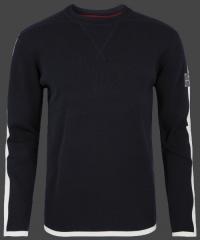 Качественный мужской пуловер Herren Pullover 013 Darknavy/Ivory Wellensteyn