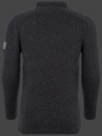 Мужской пуловер Herren Pullover 017 Darkanthracite Wellensteyn спина