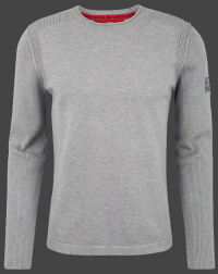 мужской пуловер Herren Pullover 020 Silvergrey