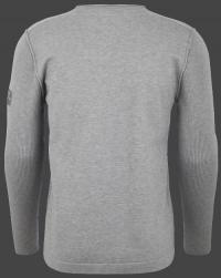 мужской пуловер Herren Pullover 020 Silvergrey вид спина