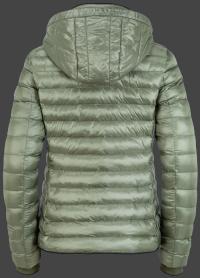 женская куртка Italy Hood-1001 Salbei Wellensteyn сзади