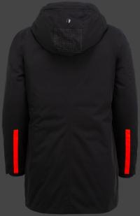 мужская куртка Merida Men-870 Midnightblack Wellensteyn сзади