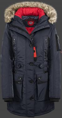 женская куртка Quasar Lady-375 Midnightblue Wellensteyn