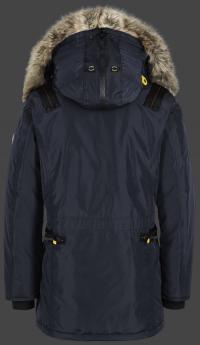 мужская куртка Seewolf-375 Midnightblue Wellensteyn сзади