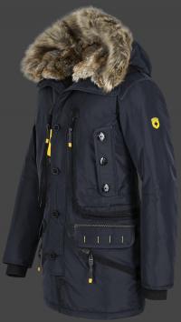 мужская куртка Seewolf-375 Midnightblue Wellensteyn вид сбоку