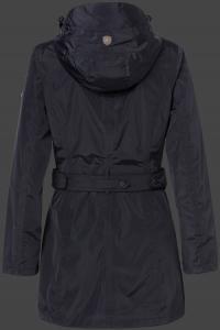 Женская куртка Silbermond-382 Midnightblue Wellensteyn сзади
