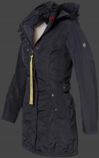 Женская куртка Silbermond-382 Midnightblue Wellensteyn сбоку