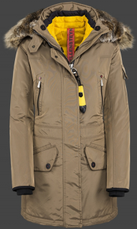 женская куртка Snowdome Lady-375 Khaki Wellensteyn