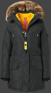 женская куртка Snowtrail Lady-435 Graphite Wellensteyn