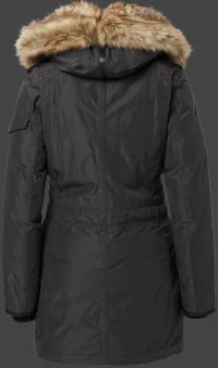 женская куртка Snowtrail Lady-435 Graphite Wellensteyn сзади
