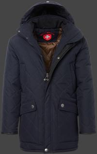 мужская куртка St.Maurice-44 Dunkelblau Wellensteyn