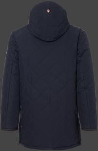 мужская куртка St.Maurice-44 Dunkelblau Wellensteyn сзади