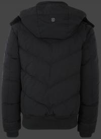 мужская куртка Synergy-870 Schwarz Wellensteyn сзади