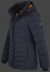 женская куртка Carmenere Lady-878 Midnightblue Wellensteyn сбоку