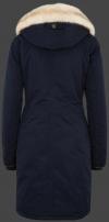 женская куртка сзади Chelsea-878 Midnightblue Wellensteyn