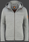 мужская куртка Florida Men-999 Greymelange/ Neonorange Wellensteyn