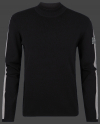 Мужской пуловер Herren Pullover 014 Black/Heathergrey Wellensteyn