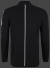 Мужской пуловер Herren Pullover 014 Black/Heathergrey Wellensteyn спина