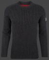Мужской пуловер Herren Pullover 017 Darkanthracite Wellensteyn