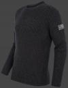 Мужской пуловер Herren Pullover 017 Darkanthracite Wellensteyn бок