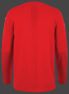 Мужской пуловер Herren Pullover 019 Firered Wellensteyn спина