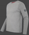 мужской пуловер Herren Pullover 020 Silvergrey сбоку