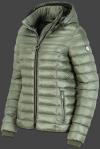 женская куртка Italy Hood-1001 Salbei Wellensteyn сбоку