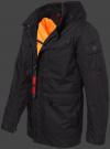 мужская куртка Jetgate-539 Schwarz Wellensteyn сбоку
