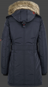 женская куртка Quasar Lady-375 Midnightblue Wellensteyn back