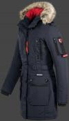 женская куртка Quasar Lady-375 Midnightblue Wellensteyn front