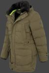 мужская куртка Seamaster-870 Nightgreen Wellensteyn сбоку