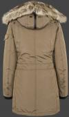 женская куртка Snowdome Lady-375 Khaki Wellensteyn сзади