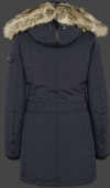 женская куртка Snowdome Lady-375 Midnightblue Wellensteyn сзади