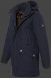 мужская куртка St.Maurice-44 Dunkelblau Wellensteyn сбоку