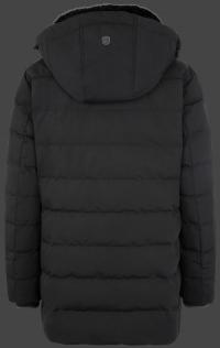 мужская куртка Vallee Men-870 Schwarz Wellensteyn сзади