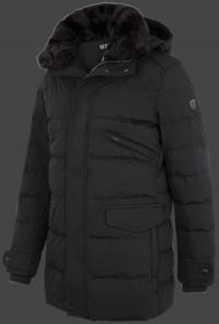 мужская куртка Vallee Men-870 Schwarz Wellensteyn сбоку