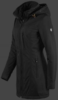 женская куртка Westwind-04 Schwarz Wellensteyn сбоку